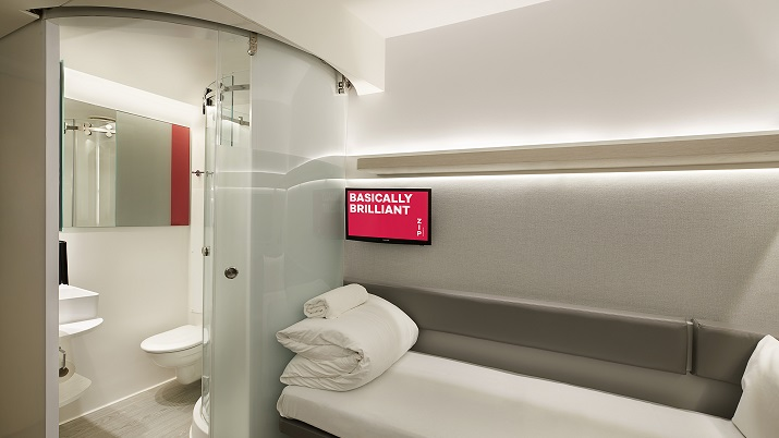 Premier Inn unveils no frills £19-a-night pod rooms