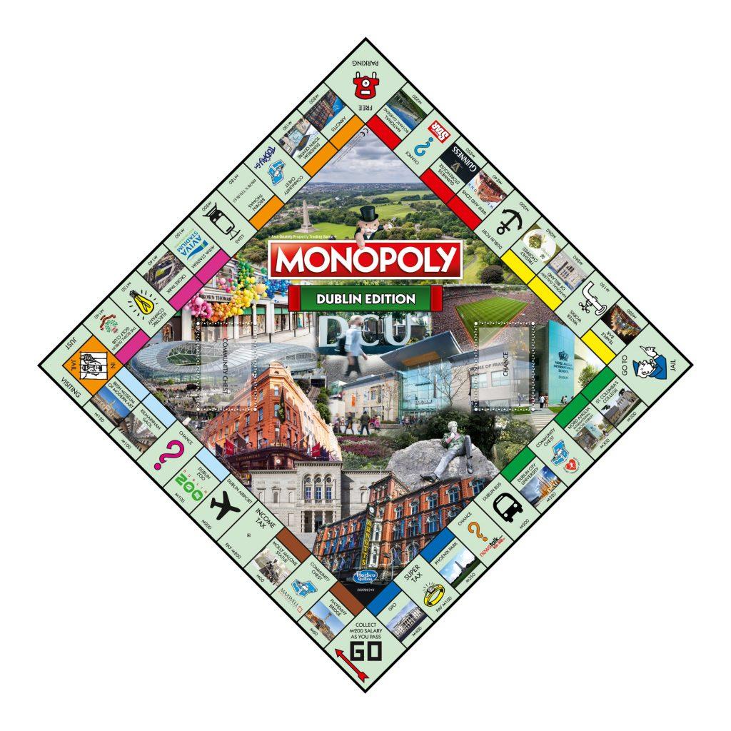 Dublin Monopoly Board