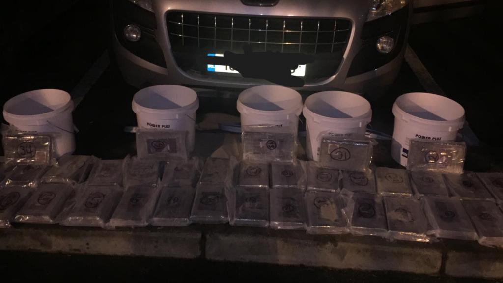 Cocaine seizure Dublin