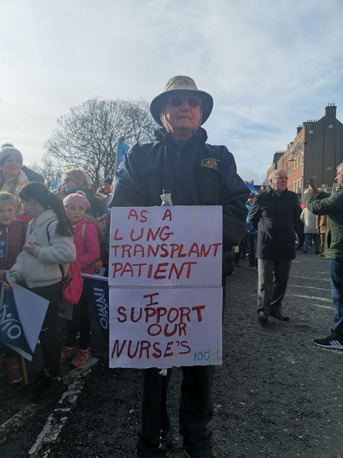 Nurses march