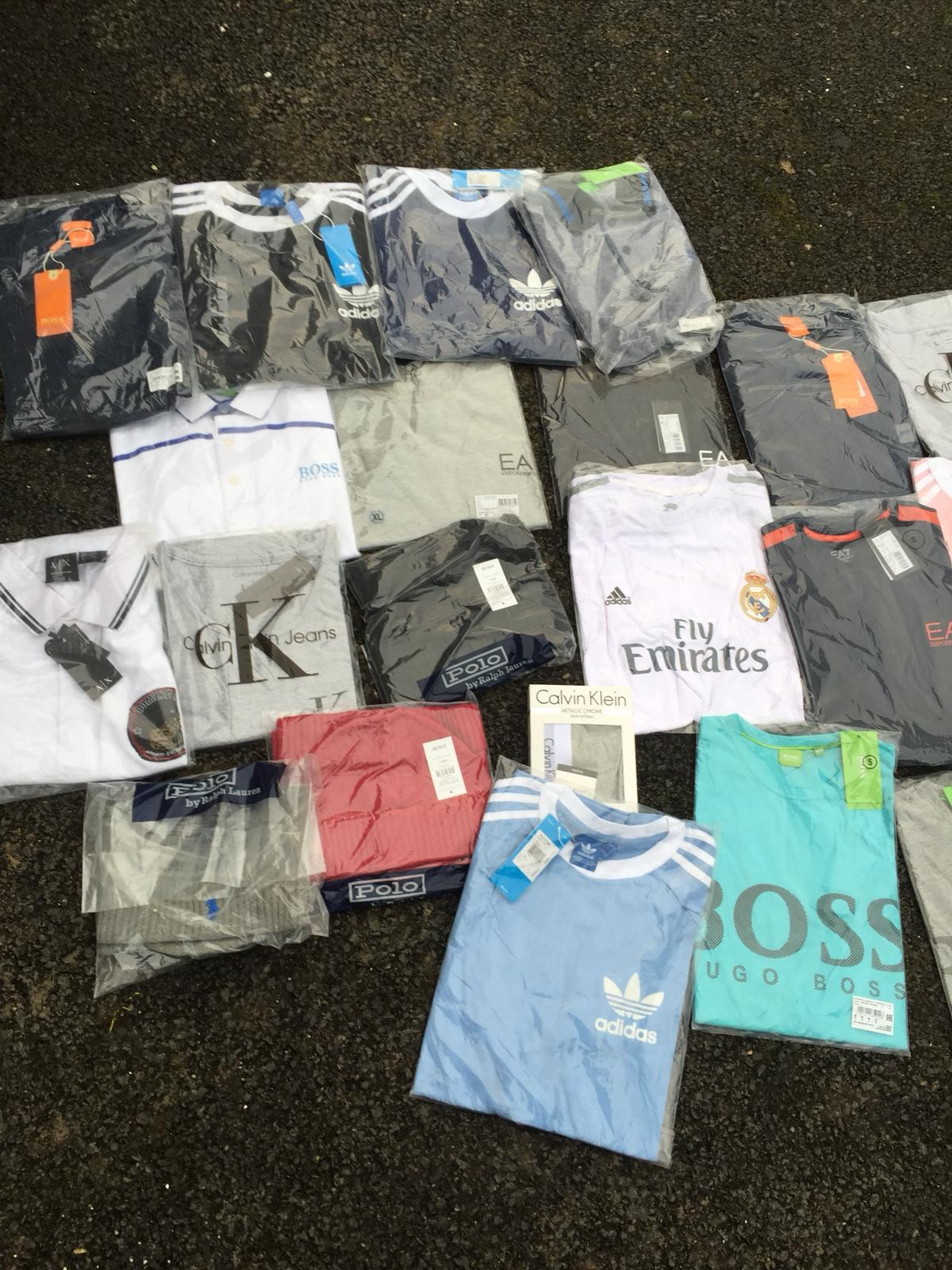 Counterfeit clothing