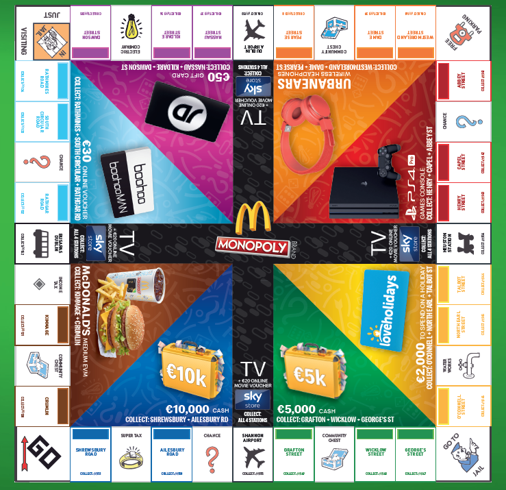 How to play MONOPOLY at McDonald's for prizes up to €10,000 | JOE is