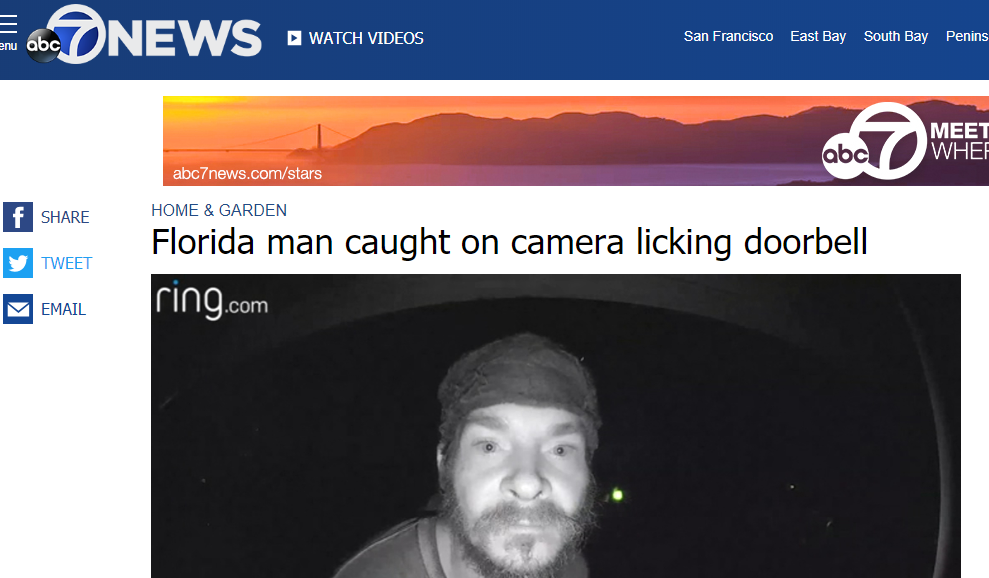 What is the 'Florida man' challenge and why is it trending online?
