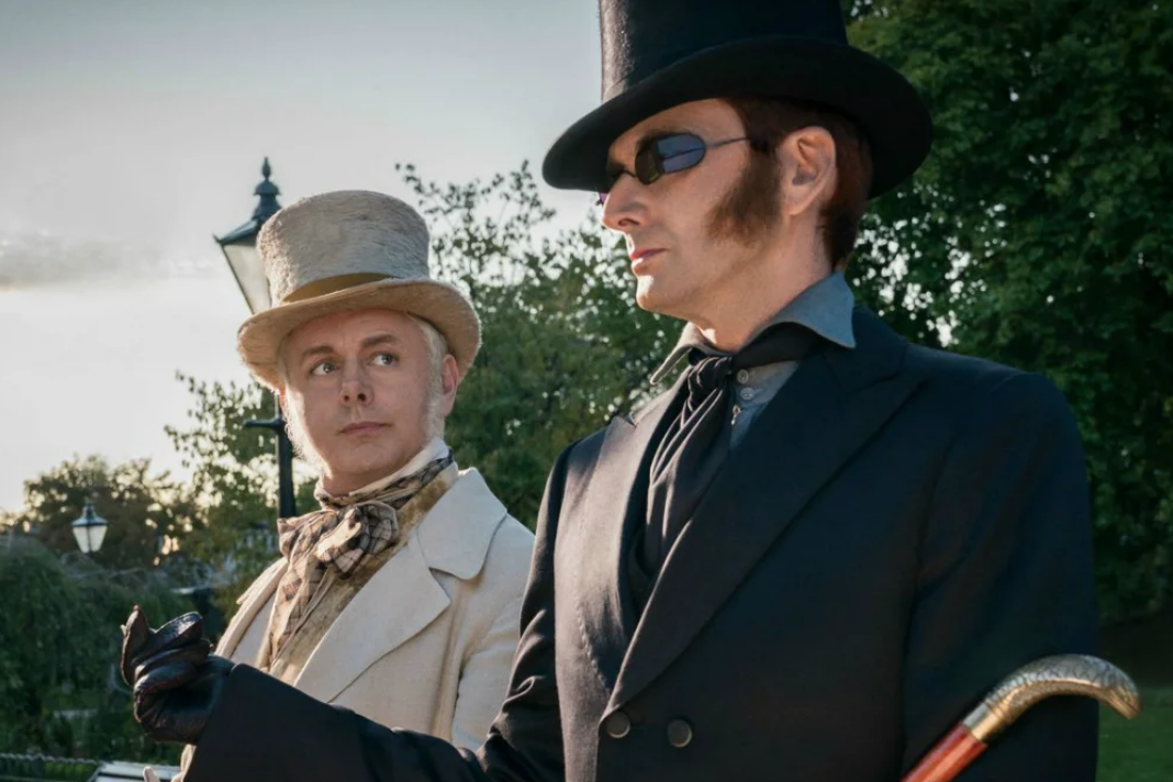 Neil Gaiman's story about making Good Omens is a love letter his