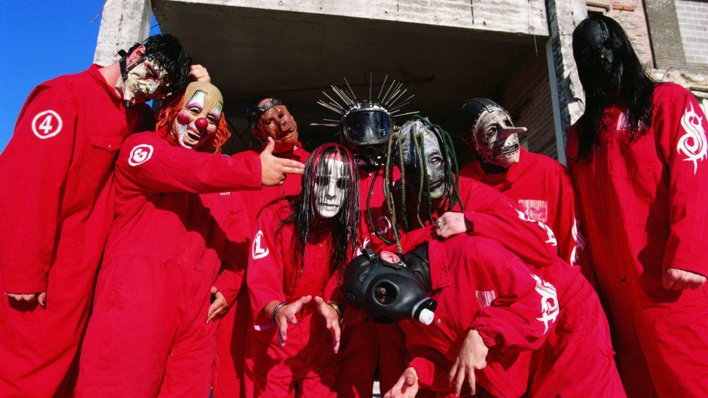 Slipknot 1999 press photo