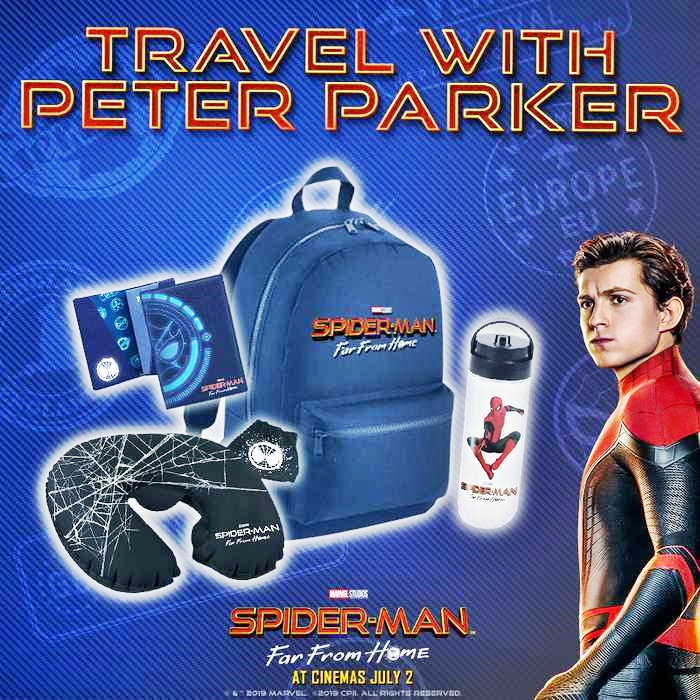 COMPETITION: Win this Spider-Man: Far From Home prize pack with lots