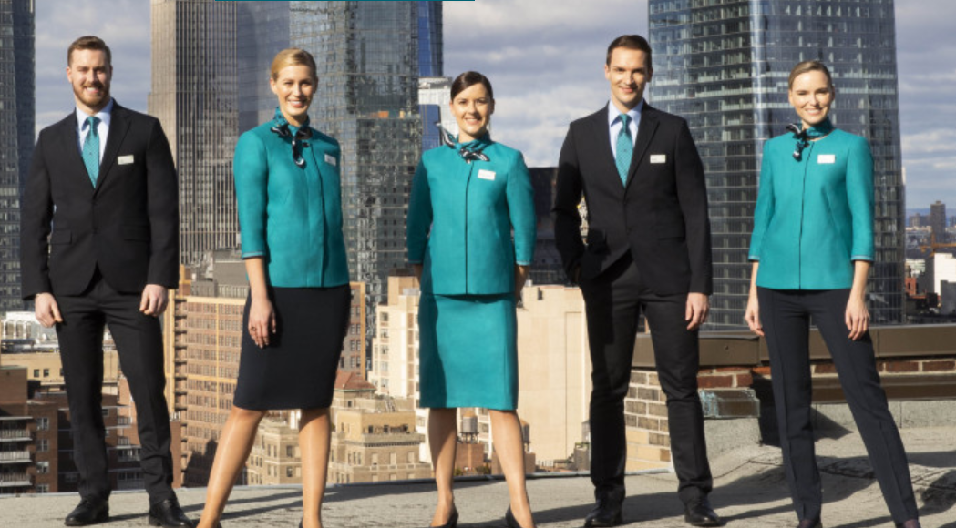 Aer Lingus uniform
