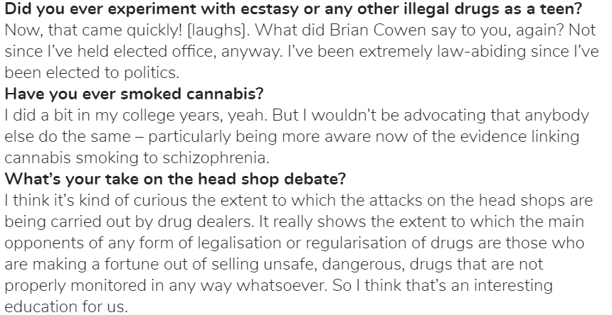 Leo Varadkar interview