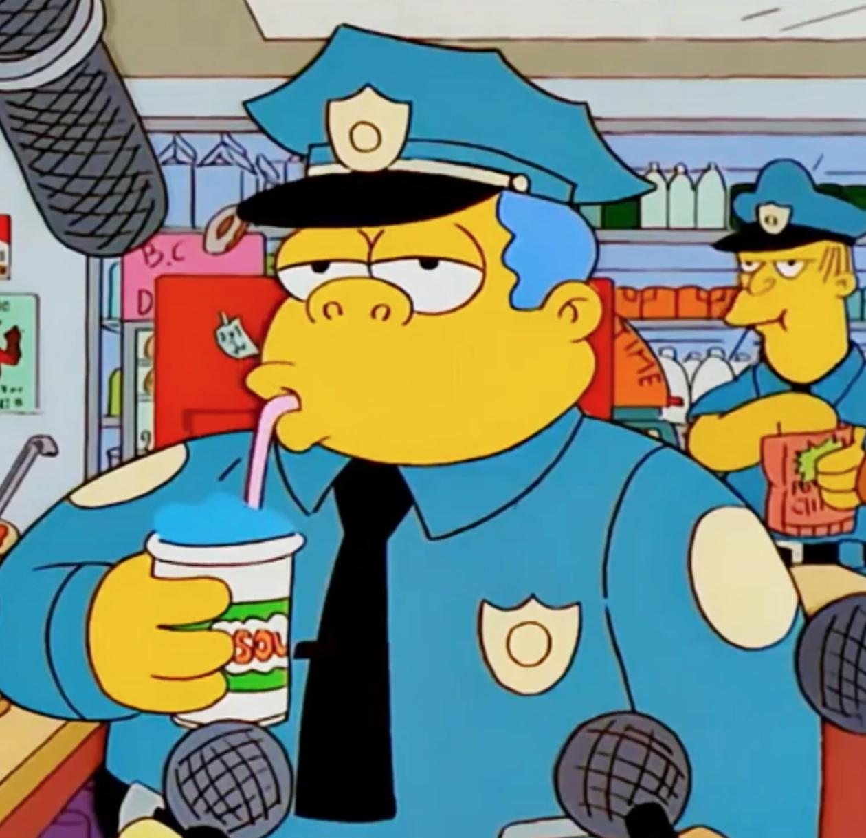 Police Chief Wiggum