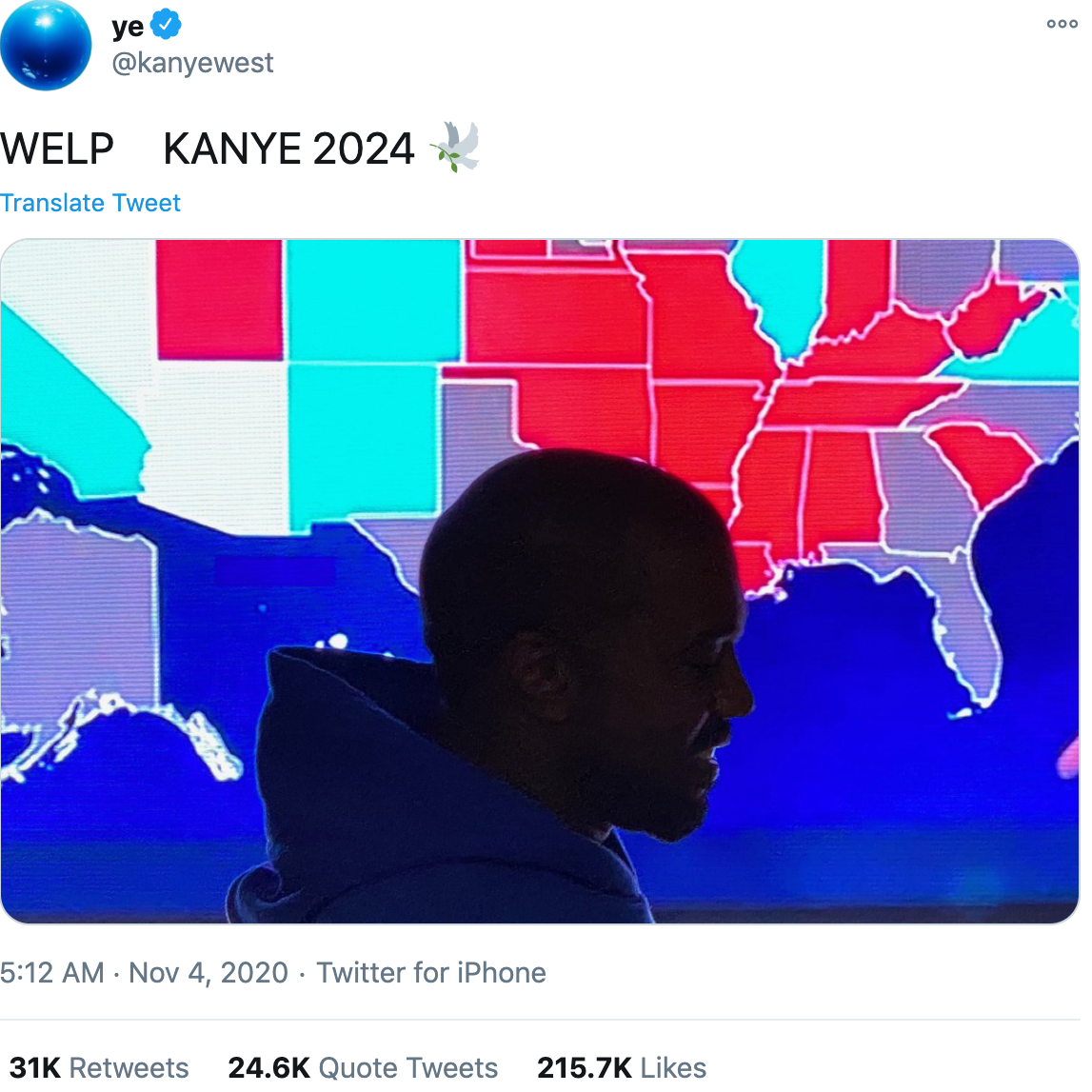 Kanye West dropped out of the 2020 presidential race. Here's why