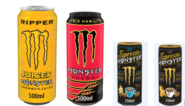 monster drink recall