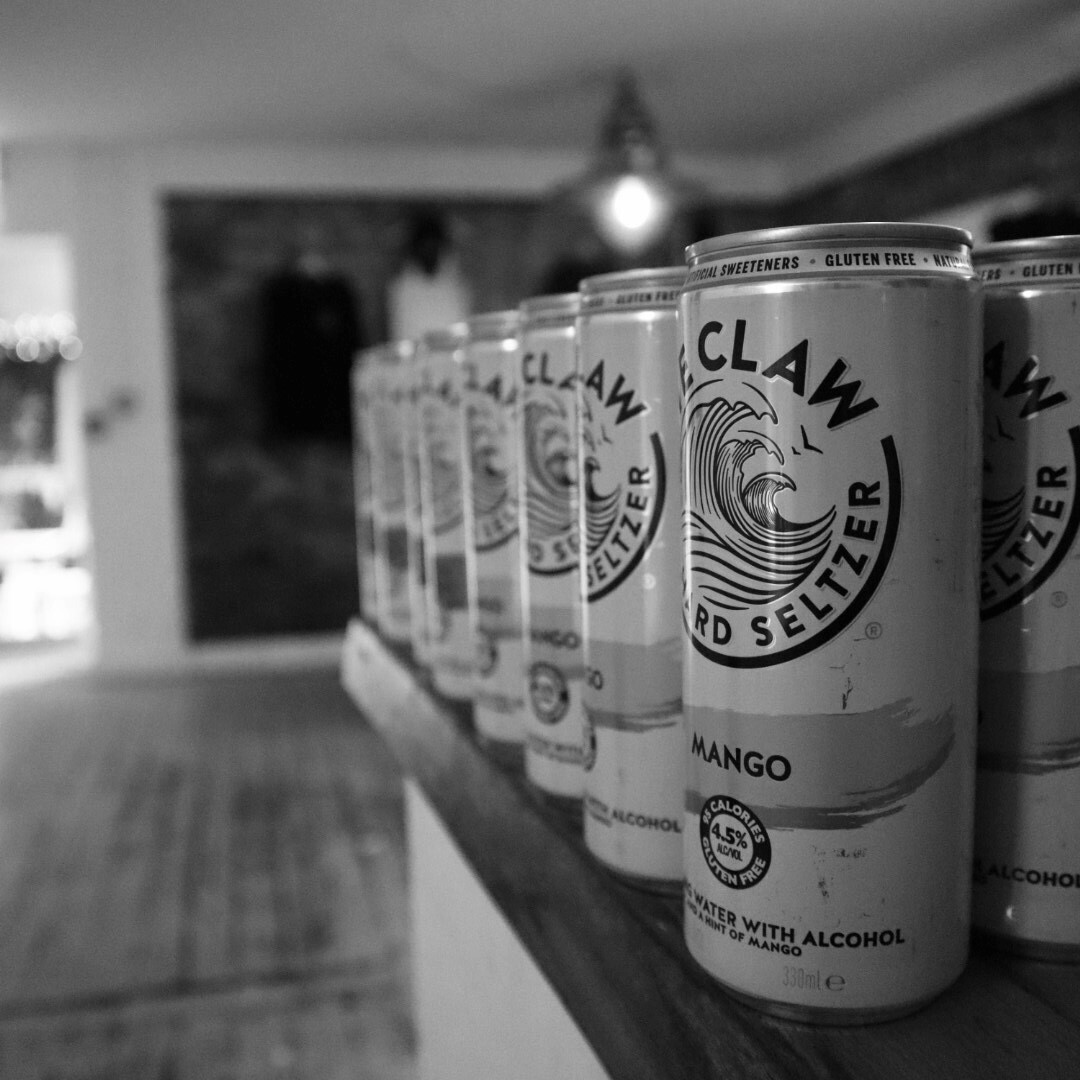 White Claw Wave of Summer Pop Up