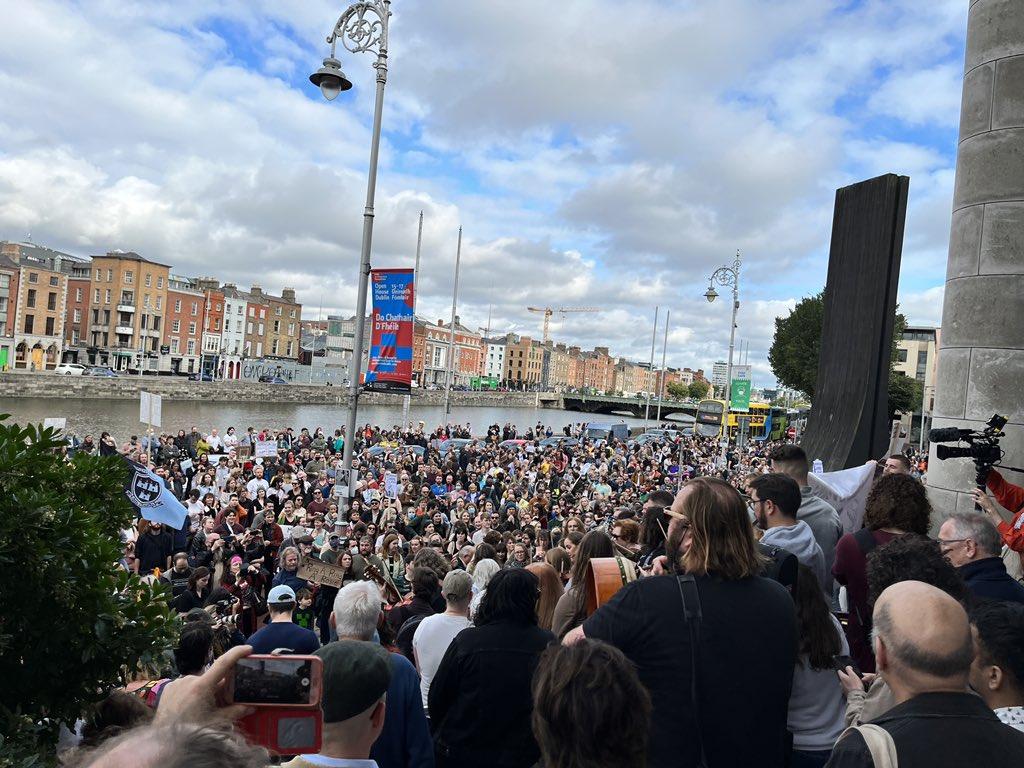 Dublin Protest October 2021